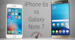 Galaxy Note 7 VS iPhone 6s