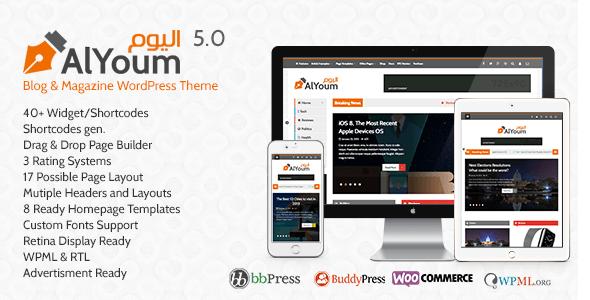 AlYoum-Retina-Magazine-Blog-WordPress-Theme